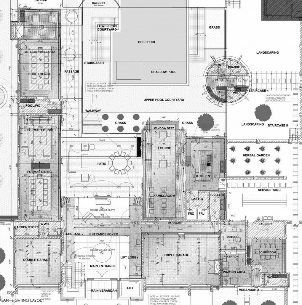 interior architecture_PLAN